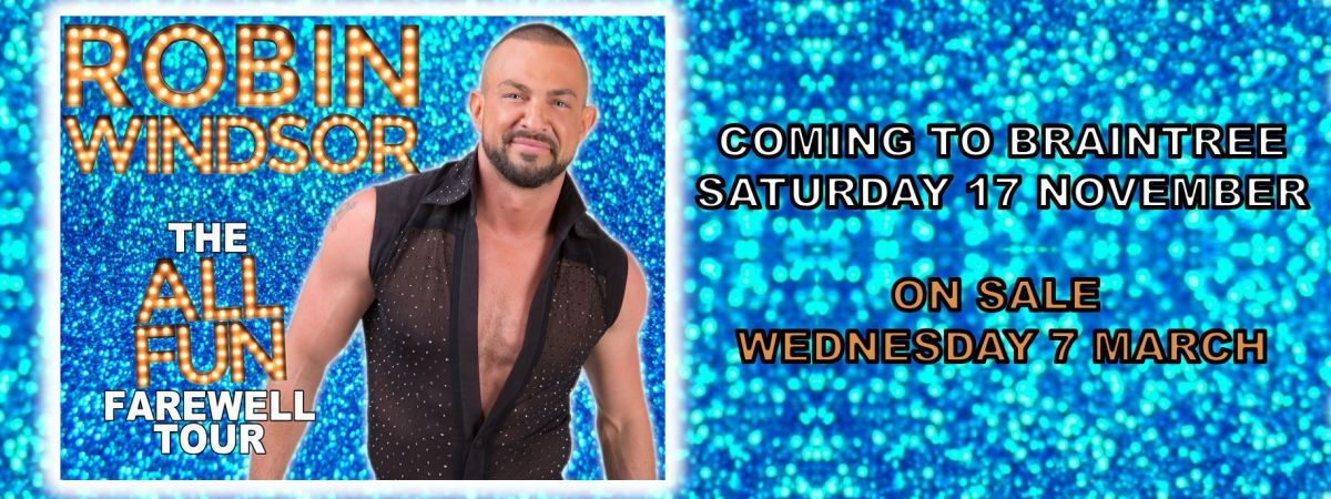 Robin Windsor Performing at Braintree Arts Theatre